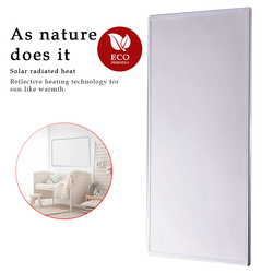 Eco Art Heating 450W White Electric Wall Heaters Home IR heating Solutions