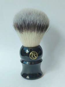 Image 4 - FS 24MM G4 Synthetic Fiber Shaving Brush Cream Color/Black Color Handle+FREE STYPTIC PENCIL+FREE SHIPPING