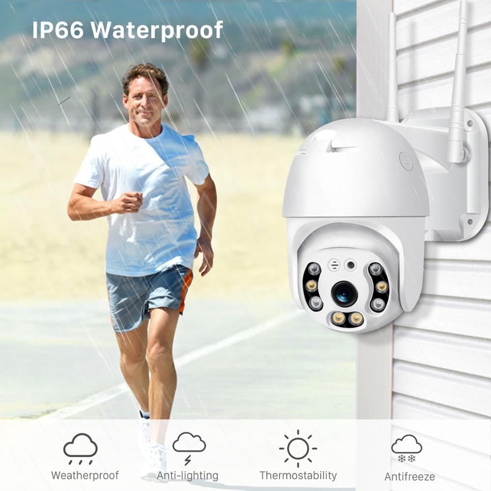 Image 5 - BESDER 1080P FHD H.265 Waterproof WiFi Camera Motion Voice Alert Dual Antenna IP Camera Audio IR Night Vision CCTV Surveillance-in Surveillance Cameras from Security & Protection
