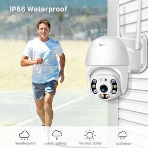 Image 5 - BESDER 1080P FHD H.265 Waterproof WiFi Camera Motion Voice Alert Dual Antenna IP Camera Audio IR Night Vision CCTV Surveillance