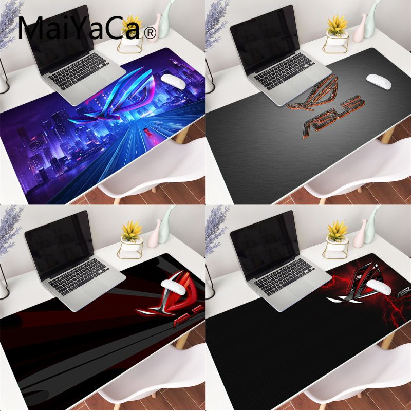 MaiYaCa Your Own Mats ASUS Rubber Pad to Mouse Game Gaming Mouse Pad Large Deak Mat 900x400mm for overwatch/cs go