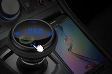 Onever BT69 3 In 1 Auto FM Transmitter Bluetooth GPS Auto Player Auto Finder FM Modulator MP3/WMA TF karte Dual USB Auto Zubehör