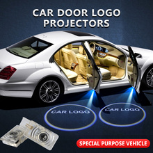 2pcs/lot For Buick Welcome Light Car Door Logo Projector Shadow Lamp
