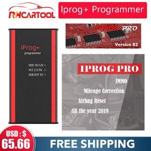 Image 2 - Programador Iprog + V84 para coche, compatible con IMMO, corrección de kilometraje y Airbag, reinicio Iprog Pro Till 2019, reemplazo de Carprog/Digiprog/Tango