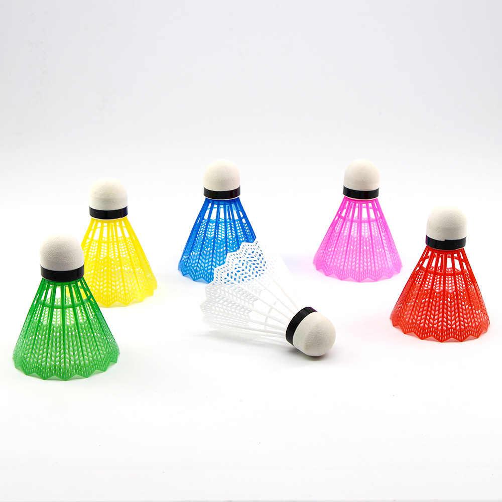 WELKIN renkli Badminton topları taşınabilir Shuttlecocks ürünler spor eğitim tren açık malzemeleri yeniden kullanılabilir yeni başlayanlar