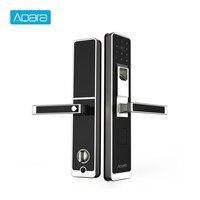 Aqara умный Дверной сенсорный замок ZigBee подключение Wi Fi пароль отпечатка пальца Разблокировка для домашней безопасности анти ползучий дизайн