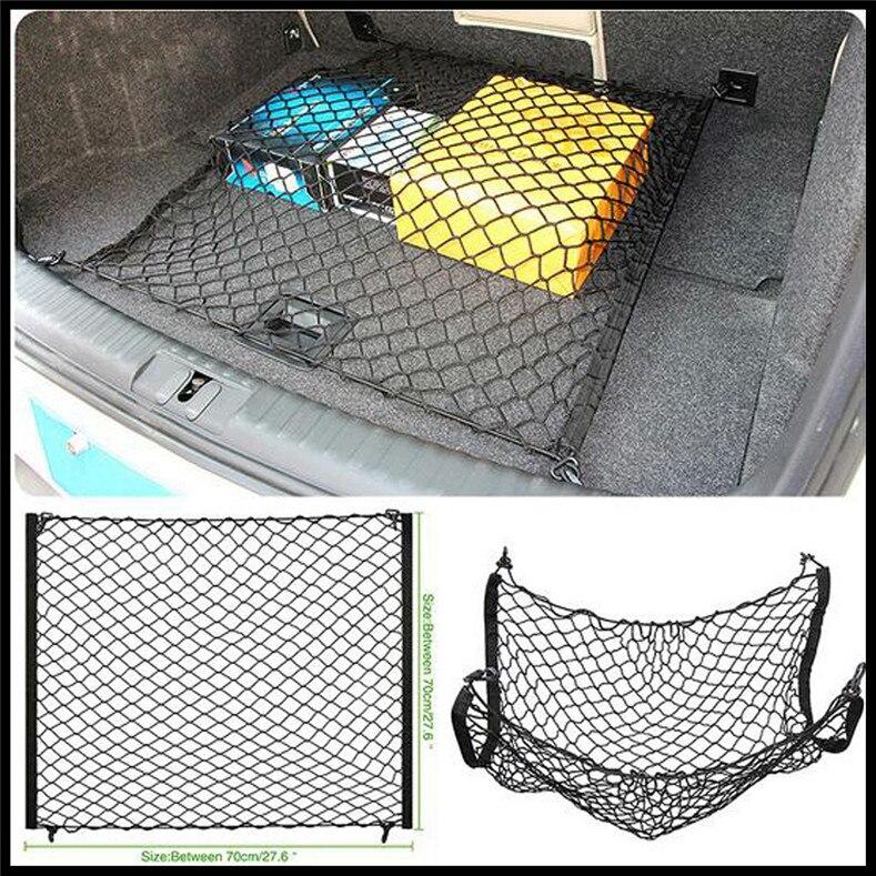 Car Mesh Elastic Nylon Back Cargo Trunk Storage Luggage Net for Audi Q3 Q5 SQ5 Q7 A1 A3 A4 A4L A5 A6 A6L A7 A8 S5 S6 S7