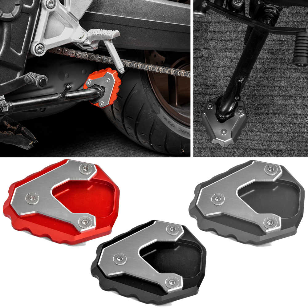 Motorcycle Kickstand Side Stand Pad Plate Base for Honda Forza300 17 18 19