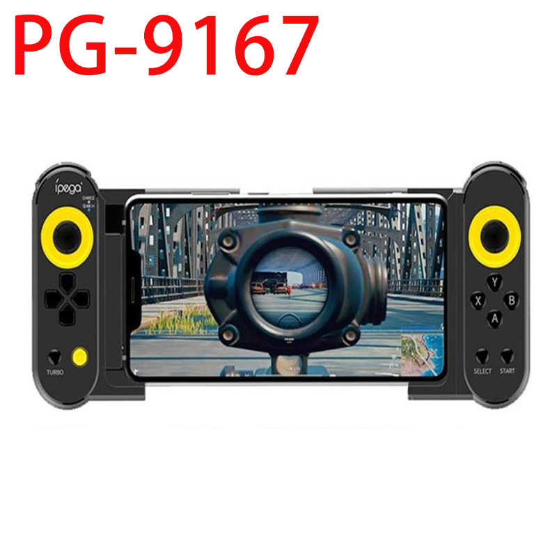 Ipega PG-9167, mando inalámbrico para juegos móviles 4,0, Joystick para IOS/Android, Smart Phone, Tablet PC, Gamepad Pubg Playstation 4
