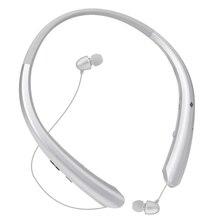 Bluetooth retractable headphones, wireless earplugs, neckband high-definition stereo headphones and microphones