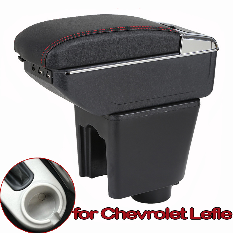 For Chevrolet <font><b>Aveo</b></font> T200 / <font><b>T250</b></font> Armrest Box Central Store Content Box Car-styling Storage Center Console Products Interior image