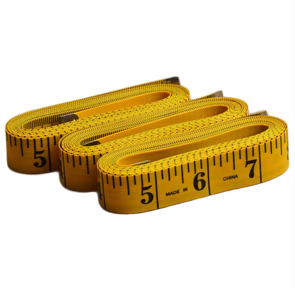 3 メートルフェイクレザーフラットボディ測定定規バンドソフトテープテーラー縫製ツール