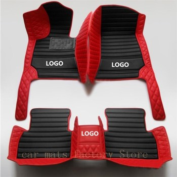 Car Floor Mat for BMW all models of splice car floor mat Accessories e30 e34 e36 e39 e46 e60 e90 f10 f30 x1 x3 x4 x5 x6 1/2/3/4 image