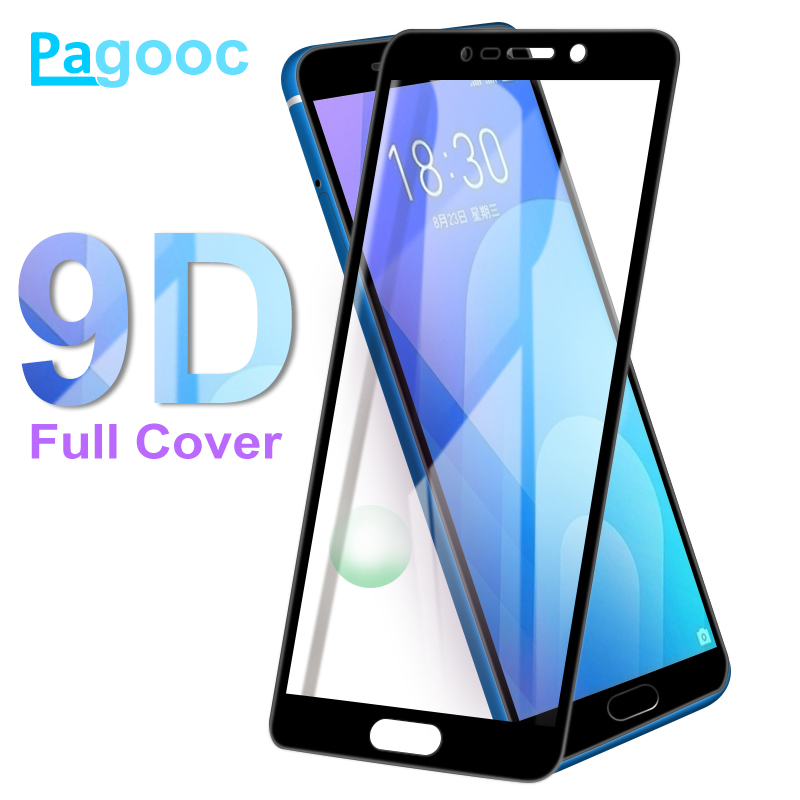 9D Protective Glass On For Meizu M6 M6S M6T M8 M5 M5S M5C M3E Pro 7 Plus M5 M6 M8 Note Tempered Glass Screen Protector Film Case