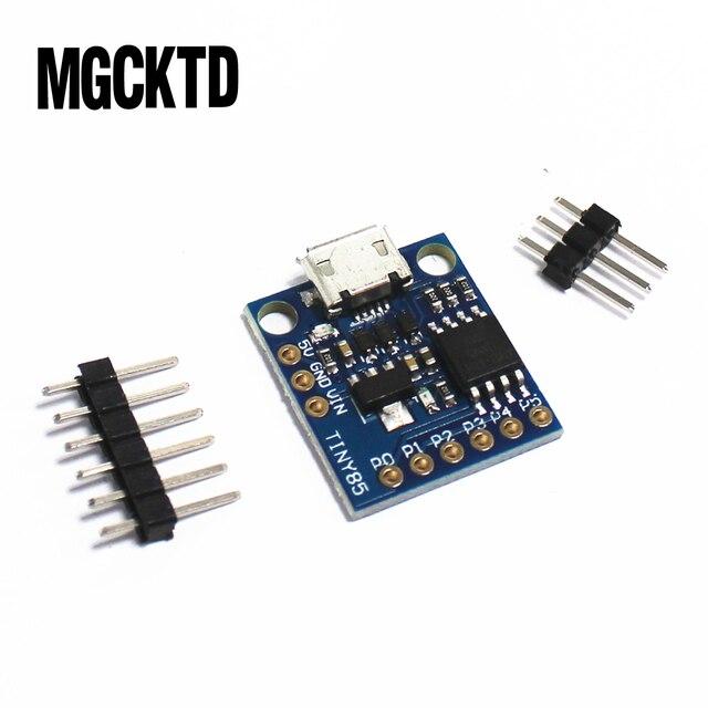 10 pçs/lote GY módulo placa de desenvolvimento mínimo TINY85 usb Digispark kickstarter em miniatura