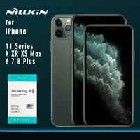 Para iPhone 11 11 Pro 11 Pro Max XR X XS Max 8 7 6s 6 Plus de vidrio templado de Nillkin 9H + Pro Film Protector de pantalla para iPhone 11