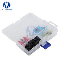 100pcs Waterproof Heat Shrink Tube Sleeves Solder Seal Shrinkable Splice Wires Connector Cable Terminal Electrical Connector Diy