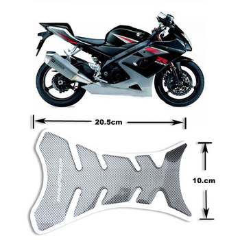 Universal Motorcycle Sticker Gas Oil Fuel Tank Pad Protector Carbon Fiber Decals Case for Honda Yamaha BMW Kawasaki Suzuki image