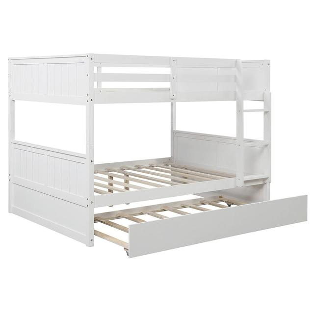 White Solid Pine Bunkbed 3