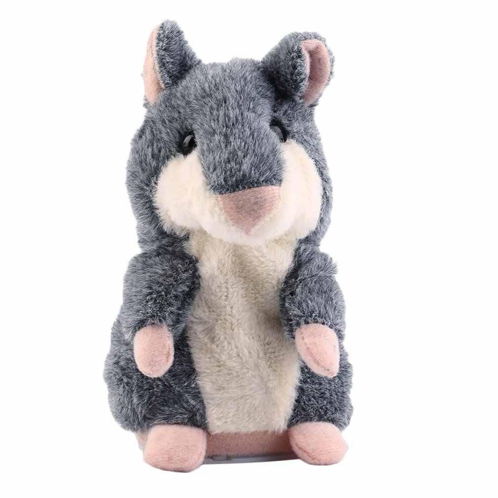 Mooie Talking Hamster Pluchen Speelgoed Hot Cute Speak Talking Sound Record Hamster Talking Speelgoed voor Kinderen
