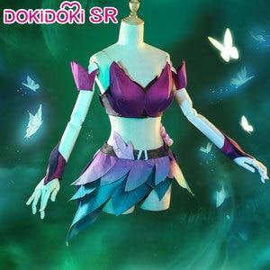 Image 4 - ドキドキ srゲームリーグ伝説のコスプレahriコスプレ衣装笑女性リーグ伝説のelderwood ahri衣装ハロウィン
