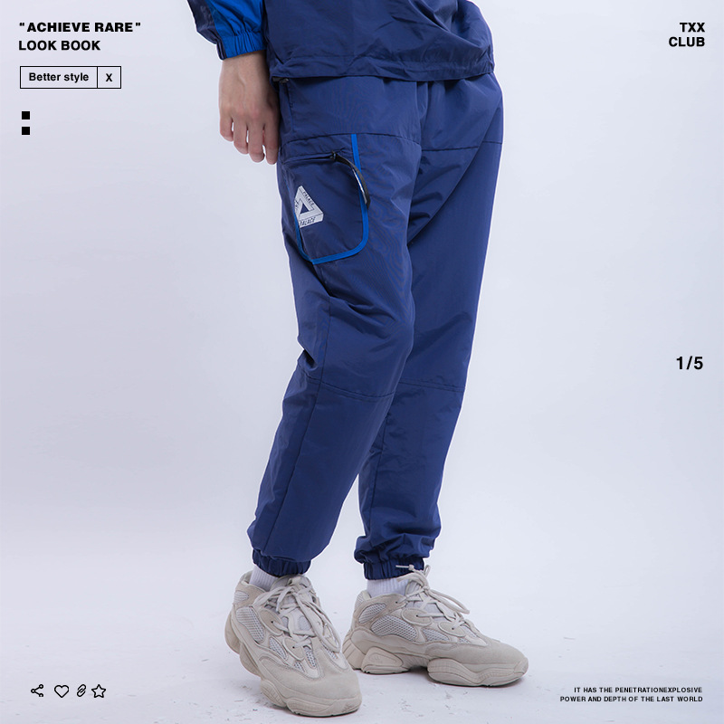 Palace Life 2018 Europe And America Popular Brand Autumn And Winter New Style Men'S Wear Retro Sports MEN'S Casual Pants Trouser