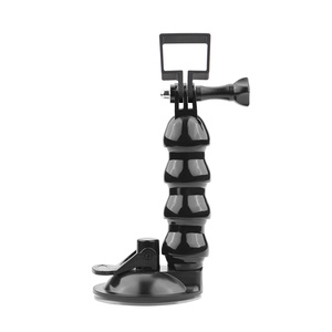 Image 4 - 2in1 Adjustable Car Suction Cup Mount Holder & Expansion Adapter Mount For FIMI PALM Handheld Camera Car Holder Accessories