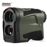 IMETER 600m/1000m Multifunction 6x22 Laser Range Finder Telescope for Hunting Distance Angle Height Speed Rangefinder