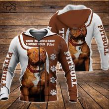 цена Men Unisex pitbull limited edition 3d dog print zipper hoodie long sleeve Sweatshirts jacket pullover tracksuit онлайн в 2017 году