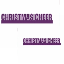 Christmas Cheer Metal Cutting Dies Phrase Die Cuts For Card Making DIY Decoration New 2019 Embossed Crafts Cards