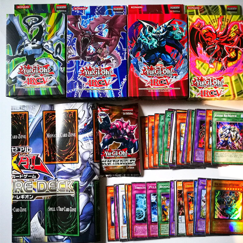 Japan Yu Gi Oh English TCG Board Game Card for Children Christams Gifts Yugioh OCG Collections Shining Cards image