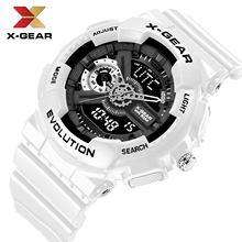 New brand X-GEAR fashion watch men's LED digital watch G outdoor multi-function waterproof military sports watch relojes hombre(China)