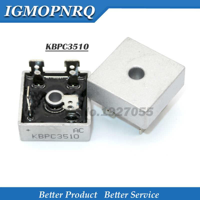 2PCS KBPC3510 35A 1000V Bridge Rectifier KBPC3510 NEW