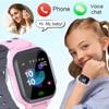 2021 new call children's smart watch children's waterproof smart watch clock SIM card location tracker children's watch boys and