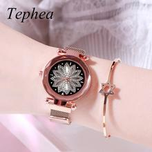 Casual 2019 Luxury Women Watches Starry Sky Ladies Womens Quartz Wristwatch Young Girl Watchproof Relogio Feminino