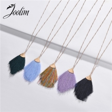 Joolim Jewelry Wholesale Tassel Pendant Necklace Design