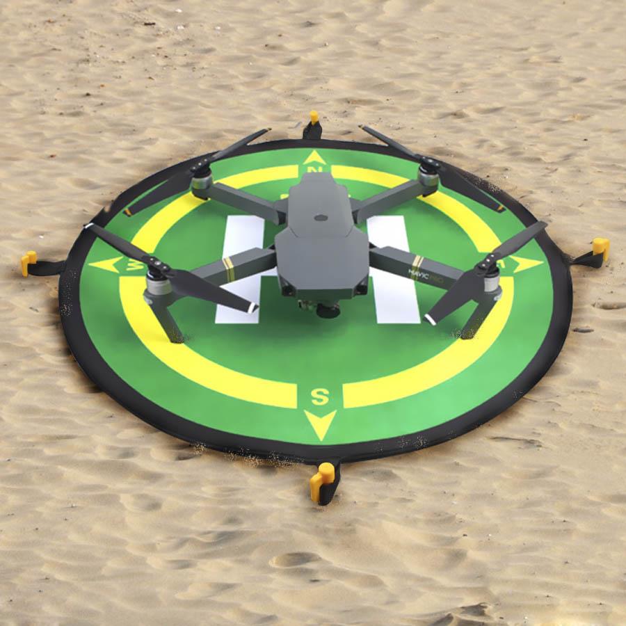 55CM 75CM 110CM Portable Parking Apron Fast-fold Landing Pad For DJI Phantom 3 4 Mavic Pro Drone For DJI Spark RC Quadcopter
