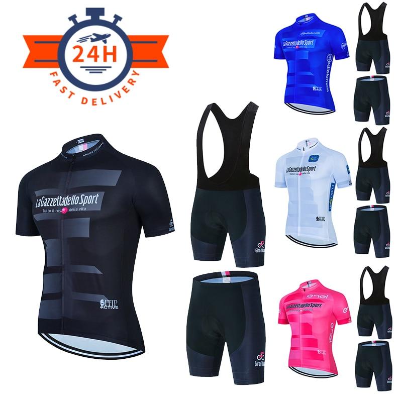 Комплект велосипедной одежды, новинка 2021, велосипедный костюм с коротким рукавом, профессиональная команда, Мужская одежда для велоспорта, ...