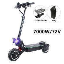 Электрический скутер flj 7000 Вт с двойными двигателями 3500