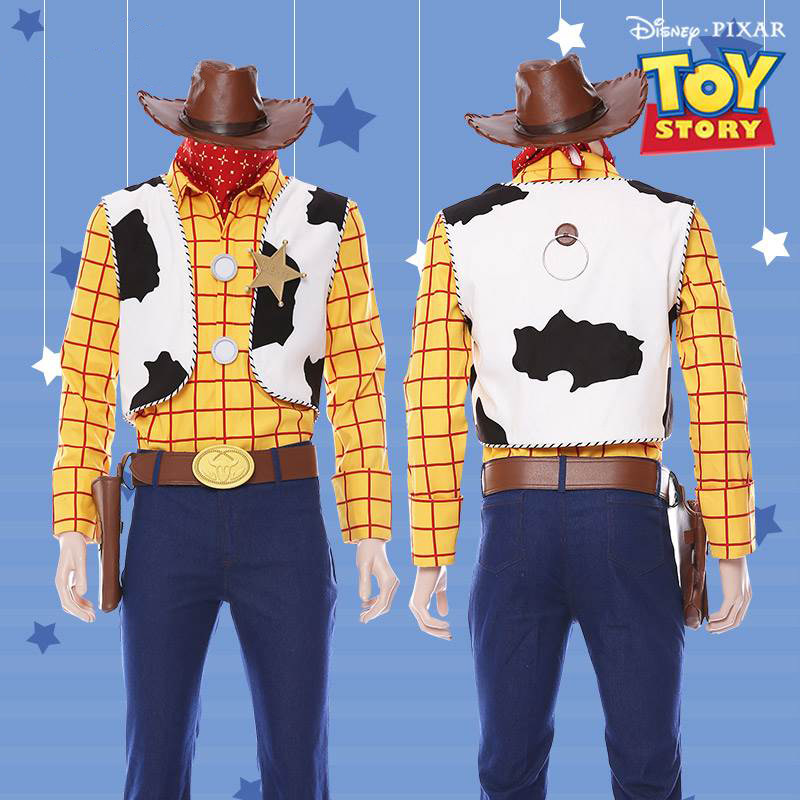 Hot Selling Toy Story 4 Costume Bo Peep Jessie Cosplay Costume  Anime Movie High Quality Outfit Woody Costume Halloween Costume