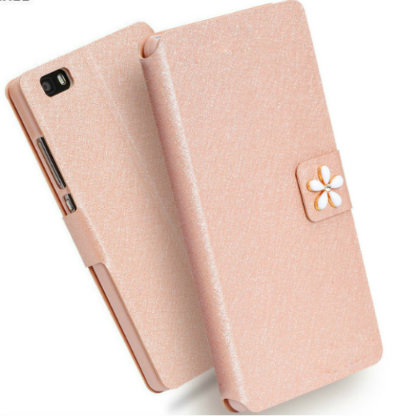 Flip Stand Style High Quality Leather Cases For LG K8 K 8 Mobile Phone Cases For LG K8 4G LTE K350 K350E K350N K8 K 8 Back Cover