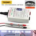 TKDMR GJ2C Salida 0-330V LED lámpara perlas retroiluminación herramienta probador voltaje de ajuste inteligente para todos los tamaños LCD TV no desmontar la pantalla