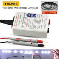 TKDMR GJ2C sortie 0-330V lampe à LED perles rétro-éclairage testeur outil Smart-Fit tension pour toutes les tailles LCD TV ne pas démonter l'écran