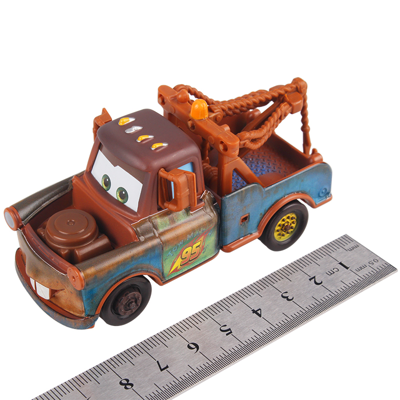 Disney Pixar Cars 2 3 Lightning McQueen Mater Jackson Storm Ramirez 1 55 Diecast Vehicle Metal