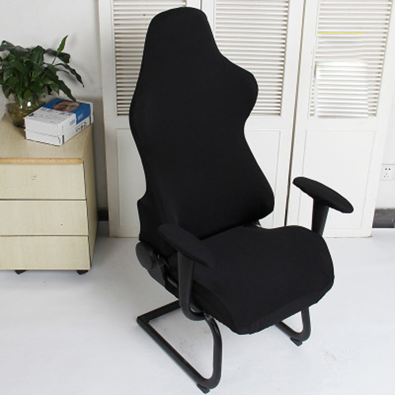 1 Set Gaming Chair Cover Spandex Office Chair Cover Elastic Armchair Seat Covers For Computer Chairs Slipcovers Housse De Chaise Chair Cover Aliexpress
