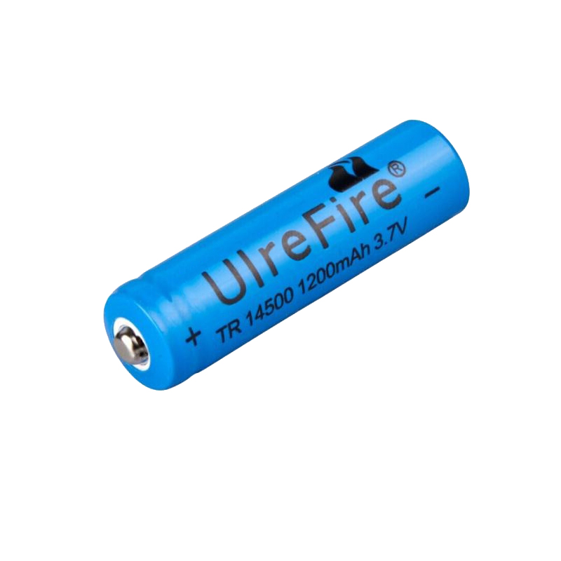 5# AA <font><b>14500</b></font> 1200mah 3.7 V lithium <font><b>ion</b></font> rechargeable batteries and LED flashlight Portable Devices Tools Lighting Tools battery image