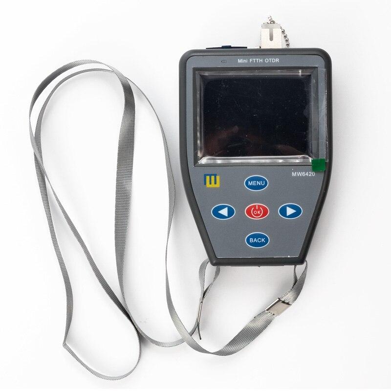 Mini portatif de FTTH S310N OTDR avec le compteur de puissance optique + source de lumière rouge + source de lumière stable fibre multifonctionnelle trouvant faul
