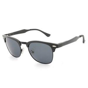 Image 2 - אלומיניום מגנזיום רטרו HD מקוטב משקפי שמש גברים נשים 3016 יוקרה מותג עיצוב ציפוי כונן גווני gafas דה סול Masculino