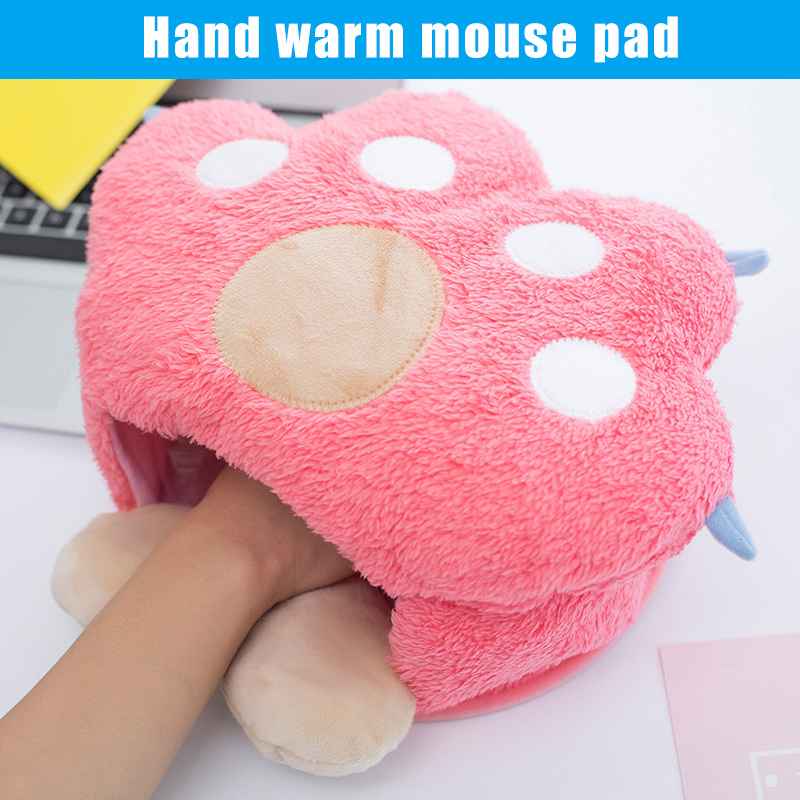 Winter Usb Hand Warm Mouse Pad Heated Mousepad Gaming Mousepad Wrist Rests