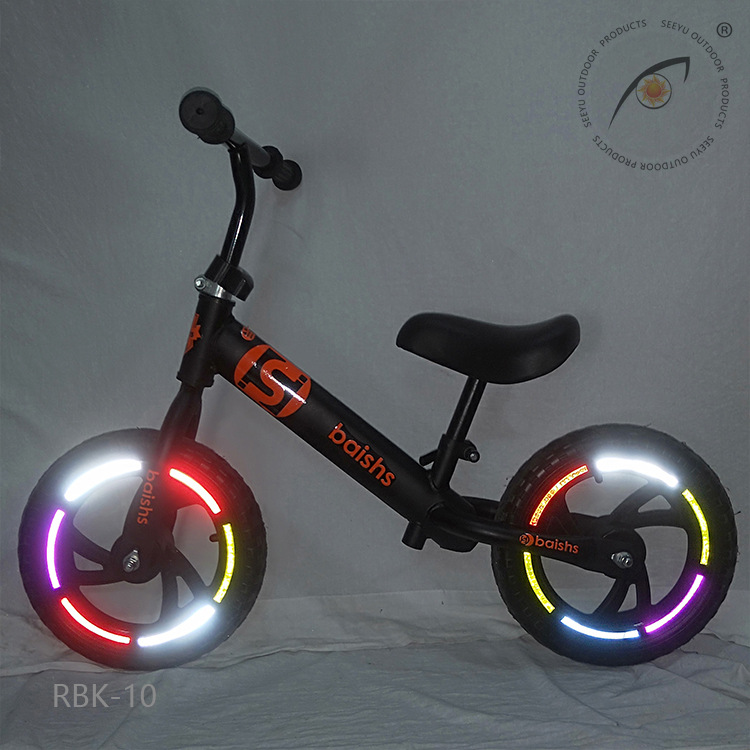 Cross Border For Currently Available Color Bicycle Rim Tire Reflective Sticker Color Balance Bike (For Kids) Reflective Stickers